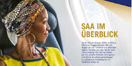 South African Airways Produktflyer